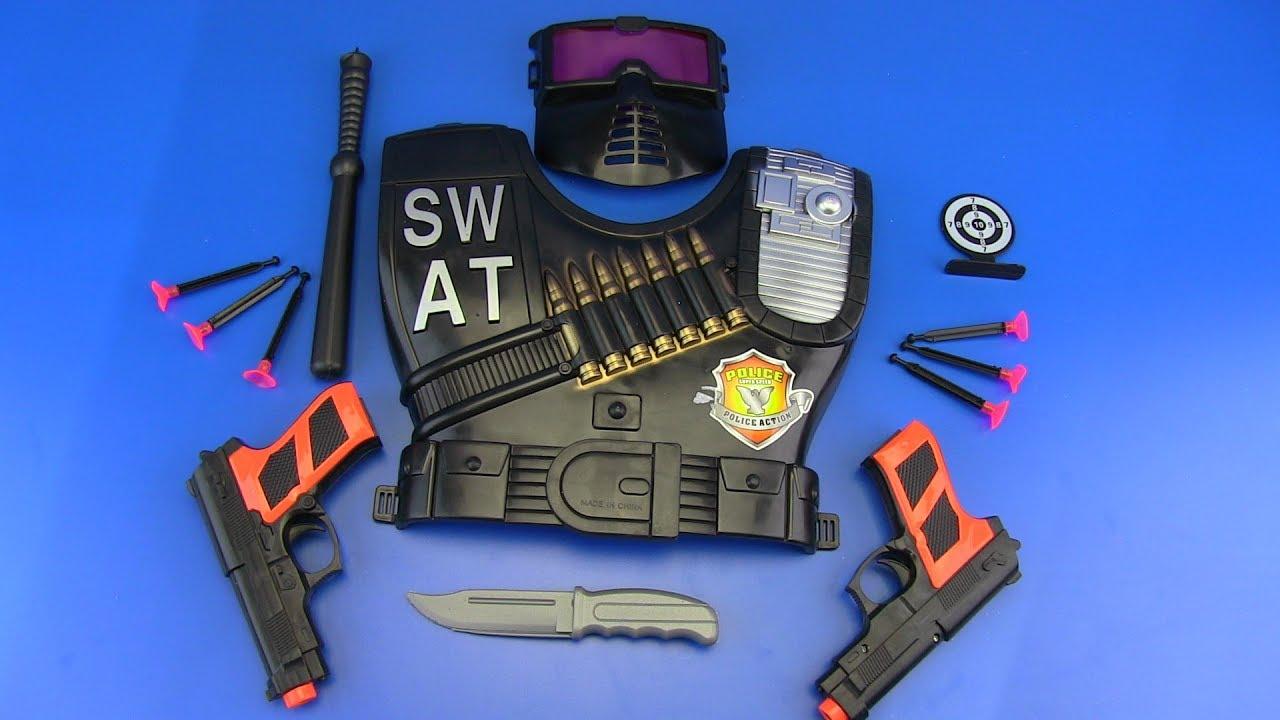 boys toy gun police swat toys