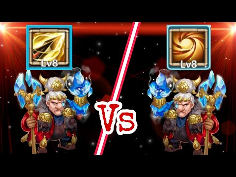 Ma Hatma | Sacred Light Vs Zealous Drive | 12/12 Skill | No Warden/insignia/pet | Castle Clash
