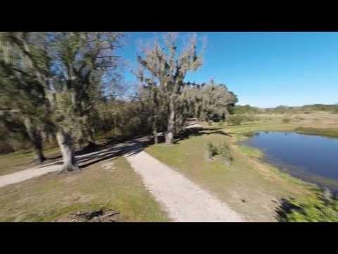 Fishhawk Sporting Clays Aerial View