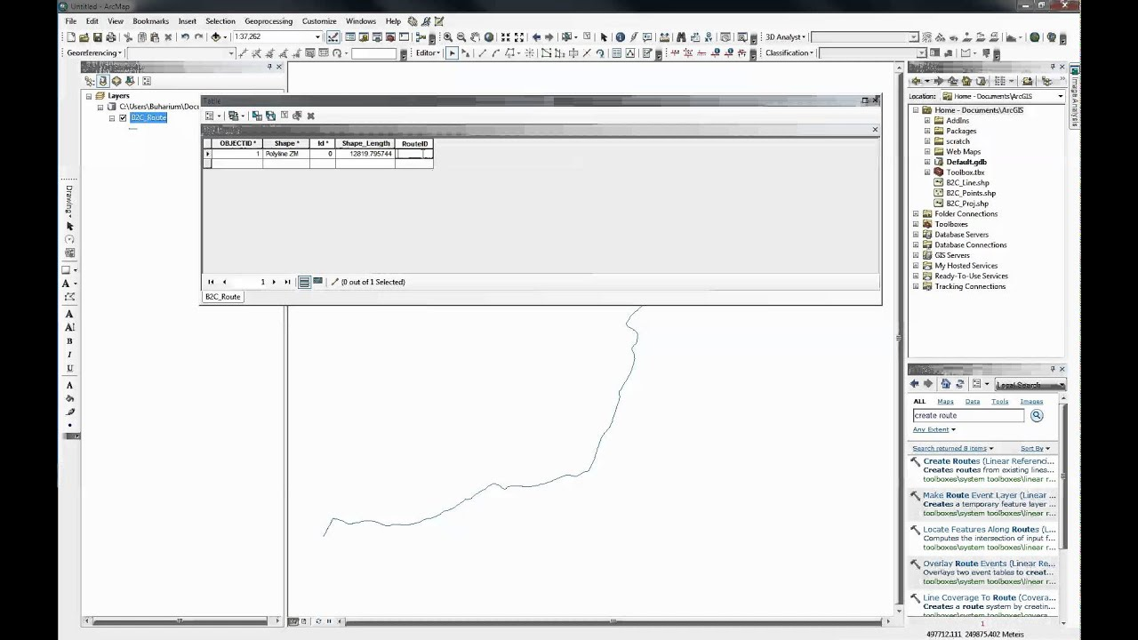 Linear Referencing Using ArcGIS