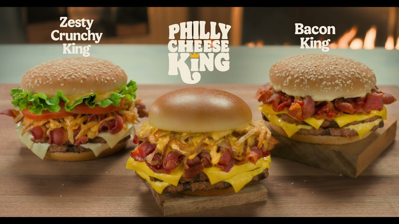 BK Philly Cheese King