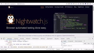 Видео 49. NightwatchJS. Пишем автотест (часть 2)