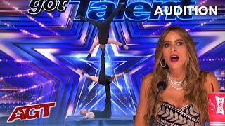 Rialcris: Colombian Hand Balancing Act Has Sofia Vergara in SHOCK!