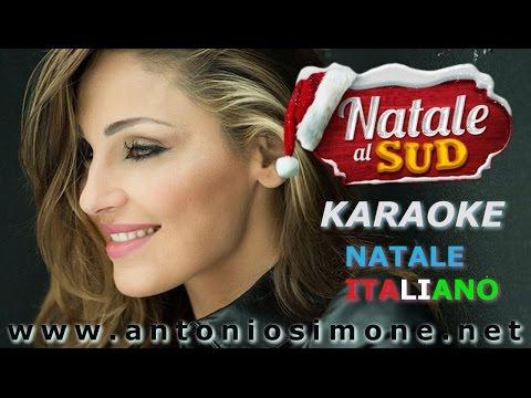 NATALE ITALIANO - ANNA TATANGELO - KARAOKE - BASE