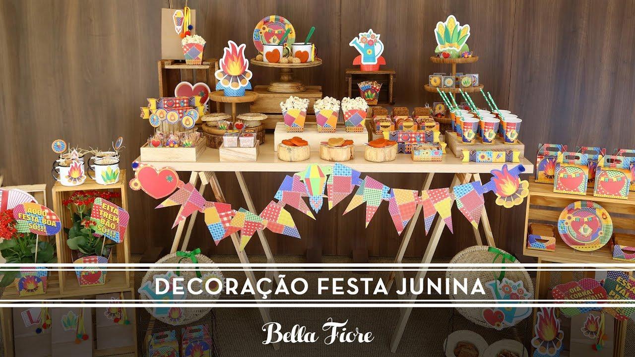 Decoração Festa Junina Como Fazer Uma Festa De São João Linda