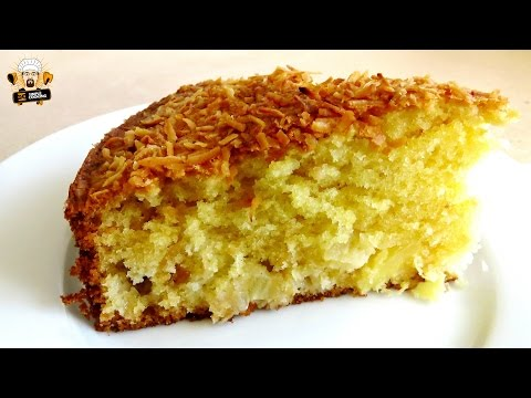 COCONUT PINEAPPLE CAKE RECIPE