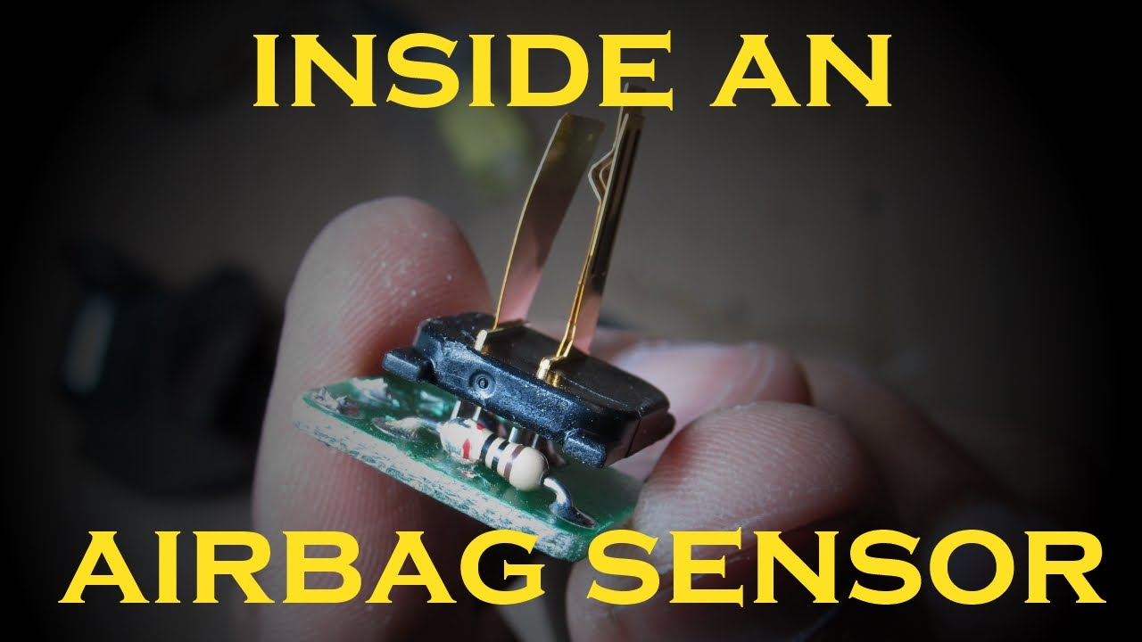 how an airbag sensor works doovi. Black Bedroom Furniture Sets. Home Design Ideas