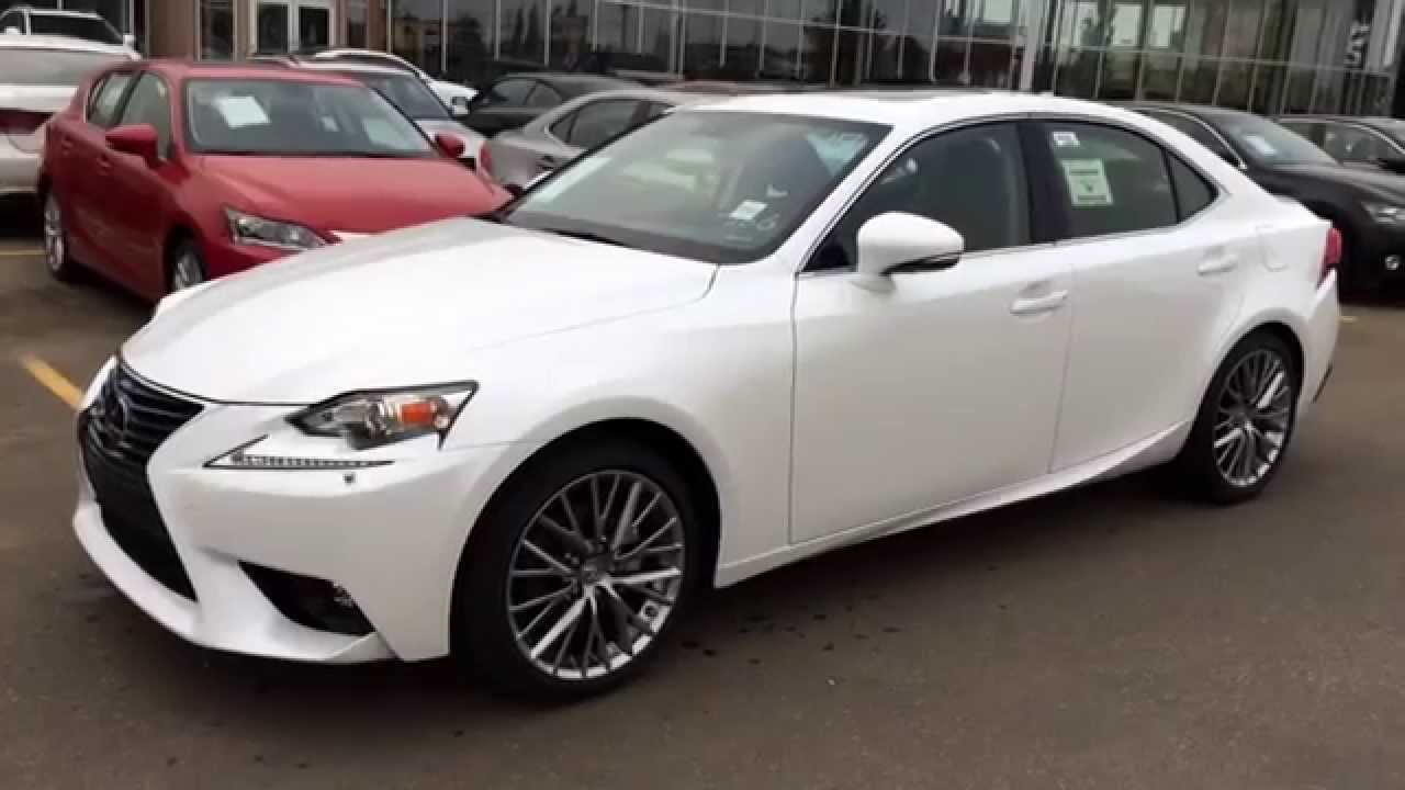 new white on black 2015 lexus is 250 awd review alberta. Black Bedroom Furniture Sets. Home Design Ideas
