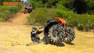 TESTING OUT THE HIGHLIFTER EDITION POLARIS MACHINES IN THE MUD