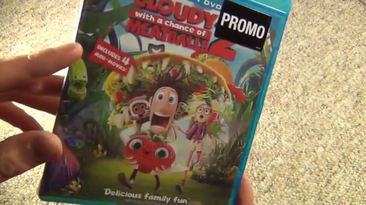 Download Cloudy with a Chance of Meatballs 2 Blu-Ray Unboxing