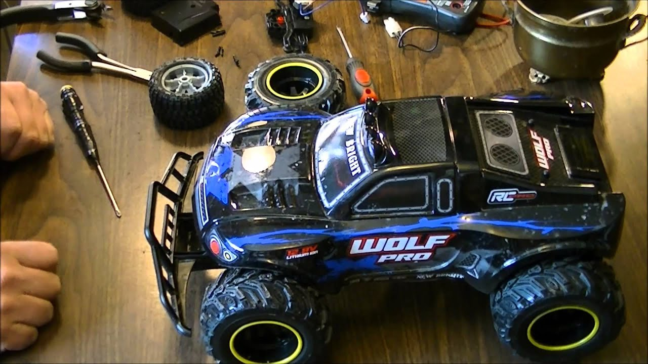 Bright Wolf Pro With Baja Extream Tires