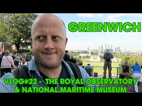 Greenwich - The Royal Observatory & National Maritime Museum - Vlog#22 - Marek Larwood