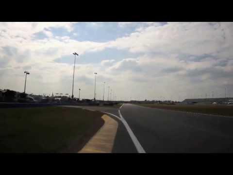 2013 Rolex 24 at Daytona  Audi Driver Frank Stippler Hot Lap