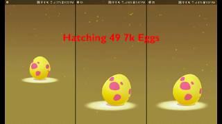 Hatching 2 Rare Pokémon from 7km Eggs! (Pokémon GO)