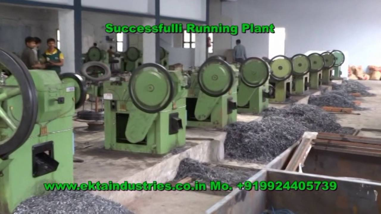 Wire Nails Project Report Center House Wiring Color Code Http Wwwuneeksupplycom Pioneerwire Nail Making Machine Runing Plant In Nashik Youtube Rh Com Art