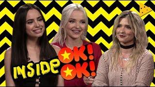 Dove Cameron e Sofia Carson de Descendentes 2 são BFFs in real life? Inside OK!OK!