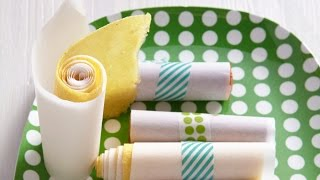 How To Make Pineapple Fruit Roll Ups - Healthy School Lunch Snacks - Weelicious