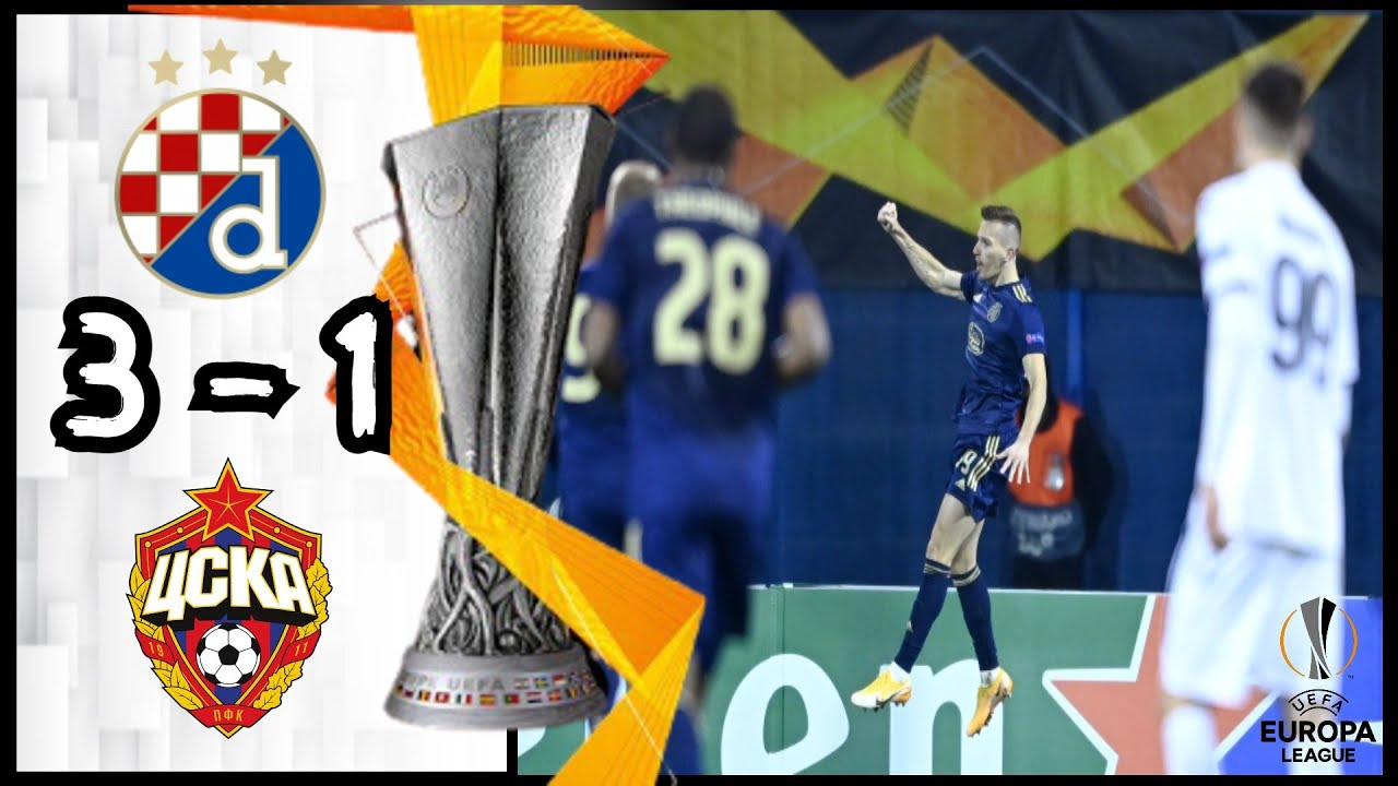 Dinamo Zagreb 3 1 Cska Moscow All Goals Extended Highlights Youtube