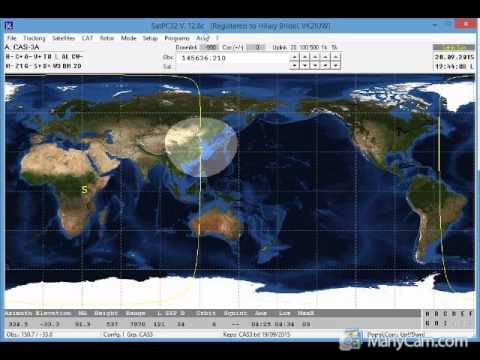 Adding new satellites to SatPC32, Gpredict and Nova | AMSAT-UK