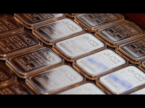 1oz Johnson Matthey Silver Bars - Silver Stacking