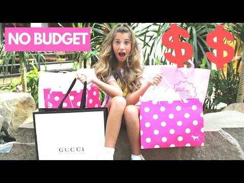 NO BUDGET SHOPPING HAUL CHALLENGE | Apple Store | Rosie McClelland