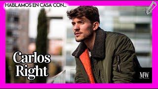 Hablamos con CARLOS RIGHT 🎼 de #Borrándote y el sonido que quiere construir en la MÚSICA