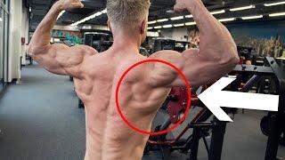 BREITEN RÜCKEN BEKOMMEN - Rückenübungen im Rücken Workout - RÜCKENTRAINING