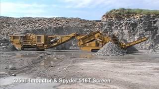 Video still for 5256T Impact Crusher Compilation