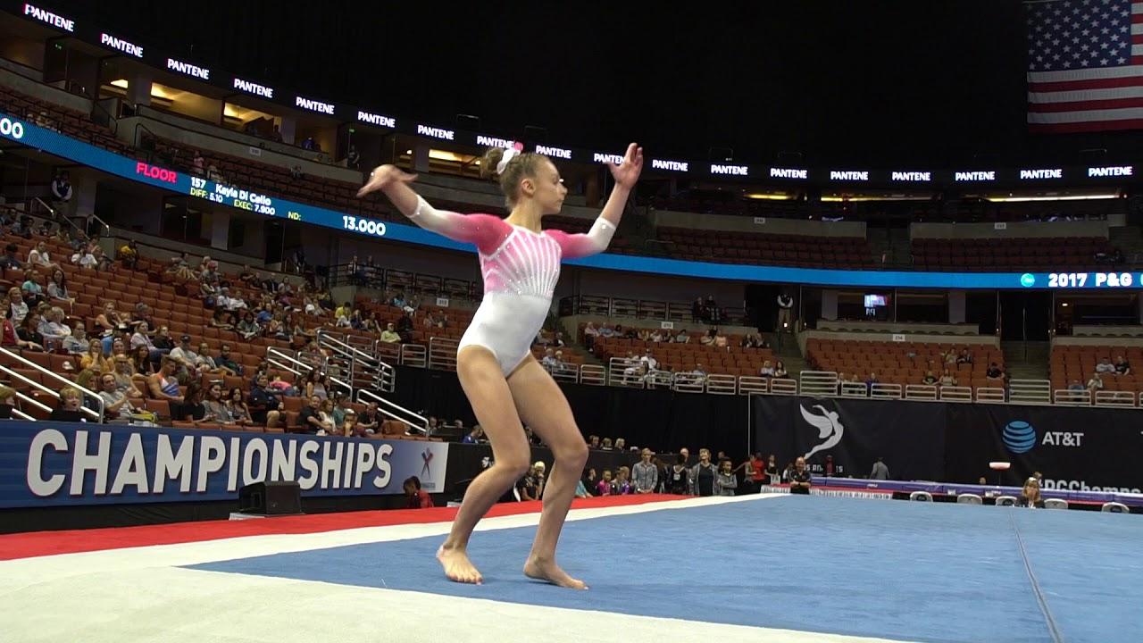 Grace McCallum - Floor Exercise - 2017 P&G Championships ...