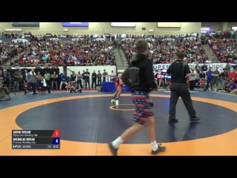 86 Semis - David Taylor (Nittany Lion WC) vs. Nicholas Heflin (Princeton WC)