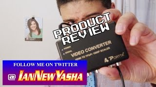 Portta HDMI to Component auto scaler review - Ian New Yasha: The Final Act
