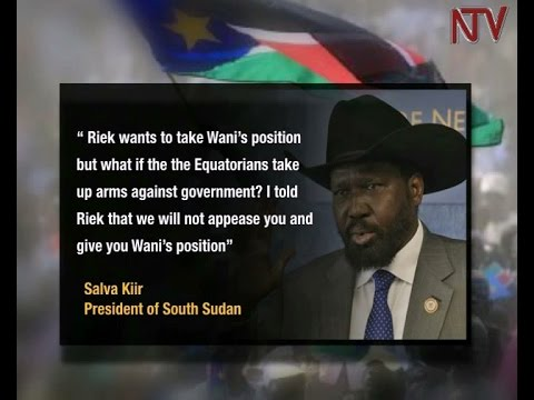 What does Kiir's refusal to share power mean for South Sudan?