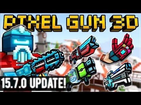 NEW 15.7.0 UPDATE - INSANE NEW WEAPONS, ALIEN SANTA & MORE!   Pixel Gun 3D
