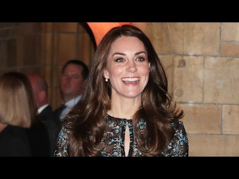 Kate Middleton Shows Up For a Children's Tea Party -- See the Cute Pics!