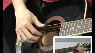 Hướng dẫn đệm hát ca khúc -Cây đàn sinh viên- (P1).flv