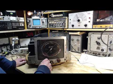 Canadian Marconi Model 93 Video #19 - SW Alignment Not
