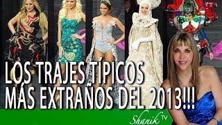LOS TRAJES TÍPICOS MÁS EXTRAÑOS DEL MISS UNIVERSO 2013!!! Shanik Tv