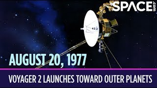 OTD in Space - Aug. 20: Voyager 2 Spacecraft Launches To the Outer