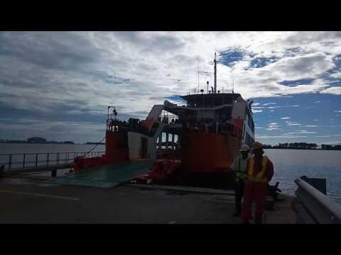Brunei ferry port 2