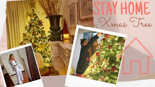 STAY HOME VLOG: Update & Στολισμός δέντρου σε καραντίνα! 🎄