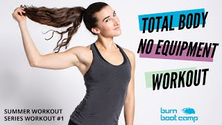 TOTAL BODY WORKOUT HIIT + STRENGTH    No Equipment