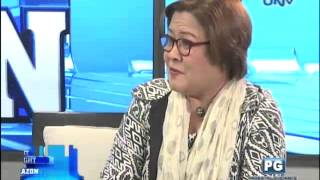 Justice Secretary Leila De Lima on Get it Straight (Part 1)