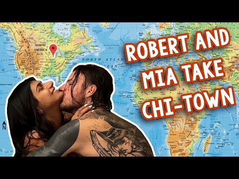 Robert and Mia Chicago Vlog