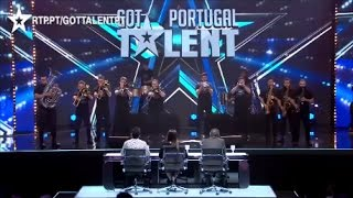 Butchers Brass Band - Audição - Got Talent Portugal 2017