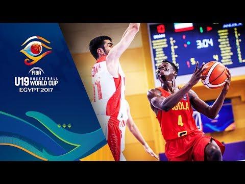 Iran v Angola - Full Game - FIBA U19 Basketball World Cup 2017