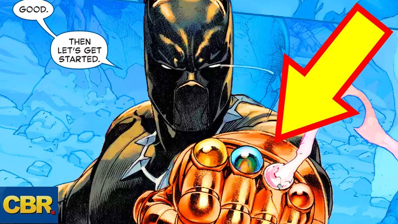 8 comic book characters you won t believe wore the infinity gauntlet