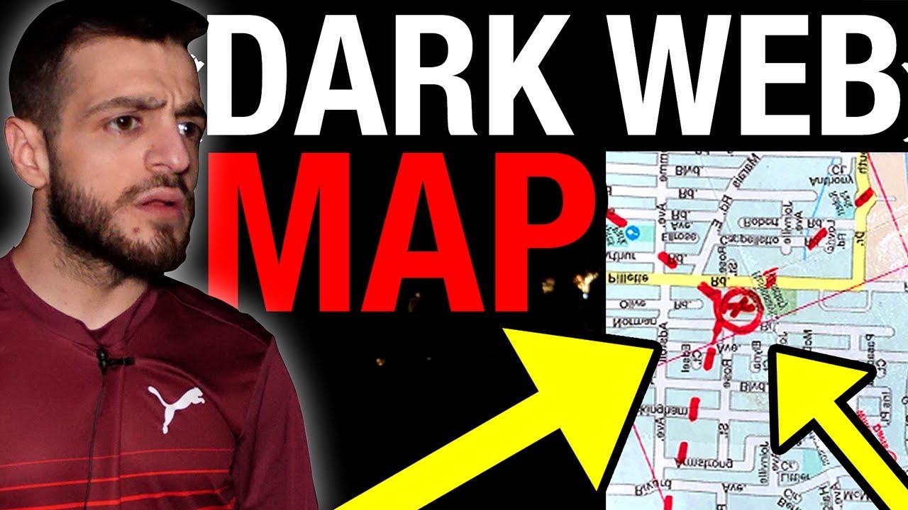 WE FOLLOWED A DARK WEB MAP (COPS WERE CALLED)