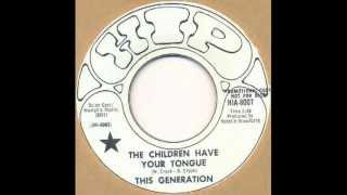 This Generation - The children have your tongue (US fuzz female psych pop)