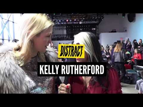 Gossip Girl, Kelly Rutherford Xhats MeToo movement at NYFW2018