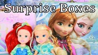 Disney Frozen Elsa & Anna Lunch Box Surprise with Bubble Guppies